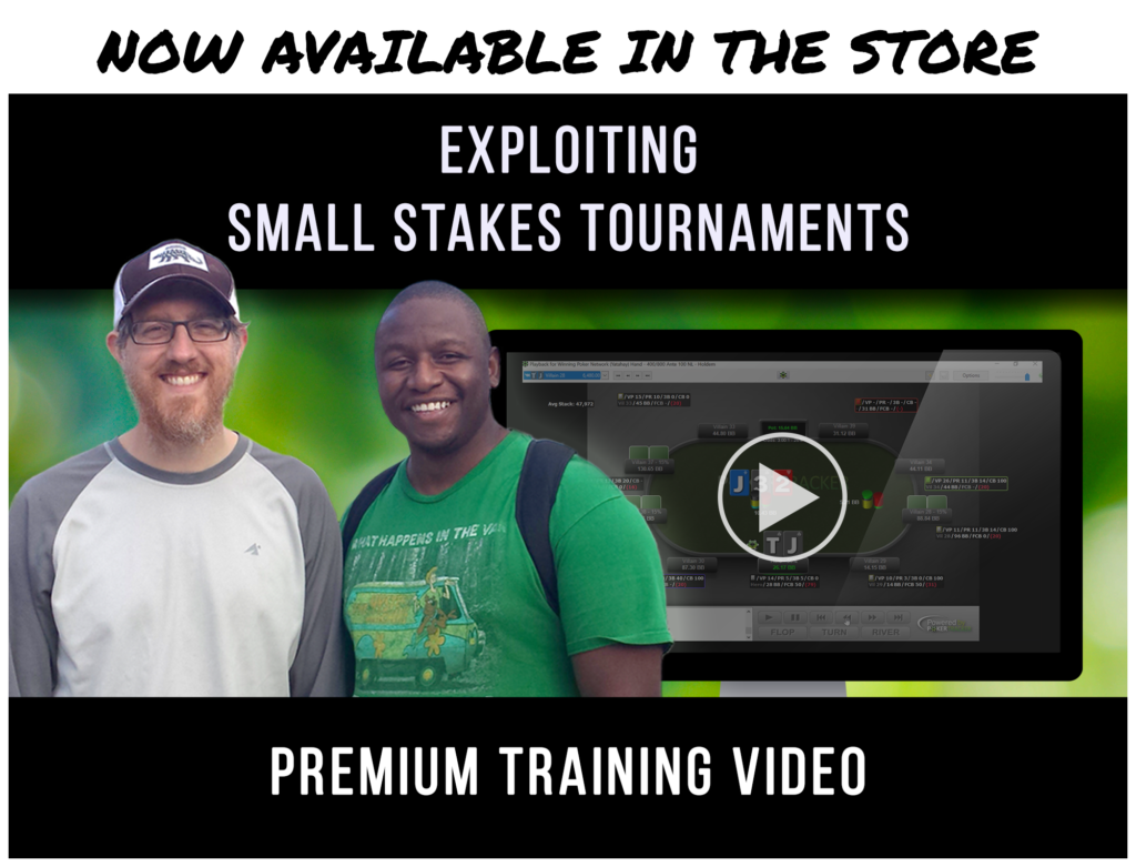 Exploiting Small Stakes Tournament Premium Training Video display ad